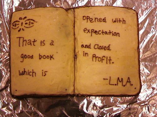 Hannah's Book Cake