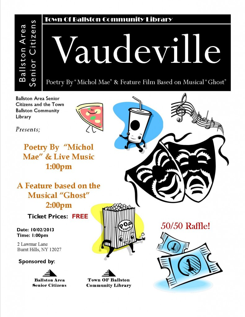 October Vaudeville!
